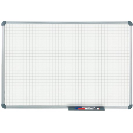 Whiteboard Office, Raster 20x20mm, 60x90 cm