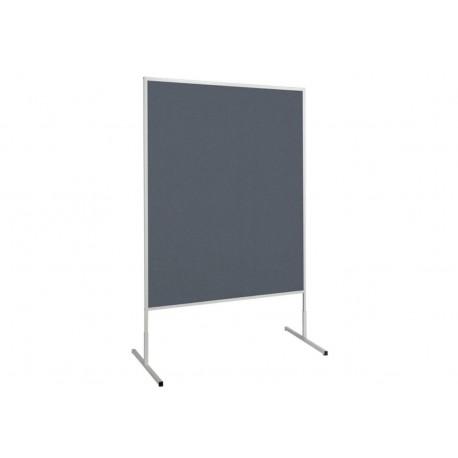 Moderationstafel standard Filz/Filz, 150x120 cm, grau