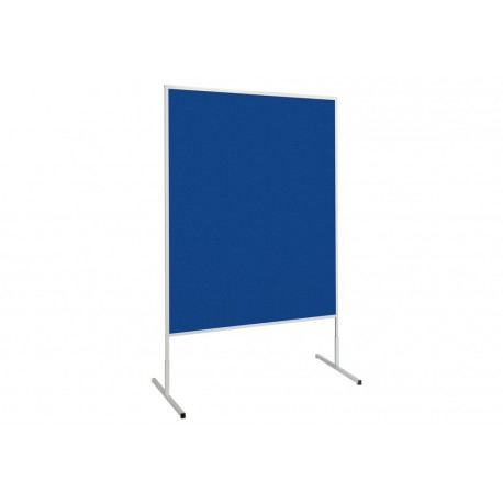 Moderationstafel standard Filz/Filz, 150x120 cm, blau