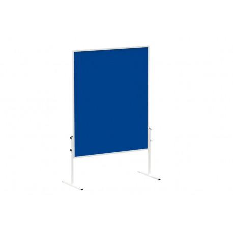 Pannello di moderazione fisso in feltro blu,  150 x 120 cm,