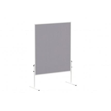 Pannello di moderazione fisso in feltro grigio,  150 x 120 cm,