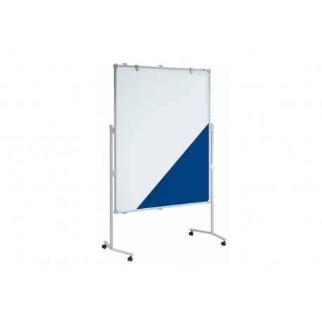 Moderationstafel professionell Textil/Whiteb., 150x120 cm