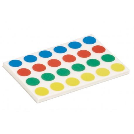 Punti adesivi, 4 colori, 960 pz. / CF