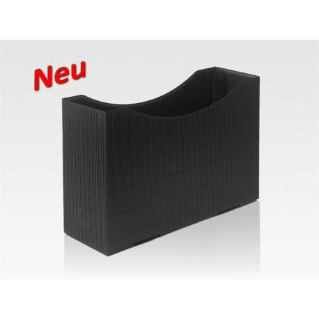Orgaboxen schwarz, Designer-Karton