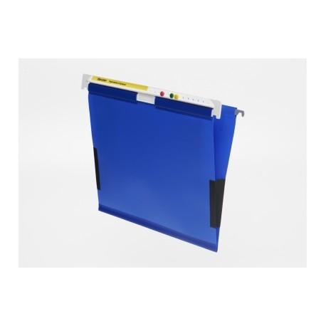 cartella PVC con fermi laterale
