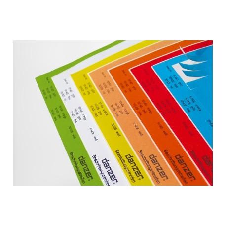 Etichette inseribili A4 formato lungo