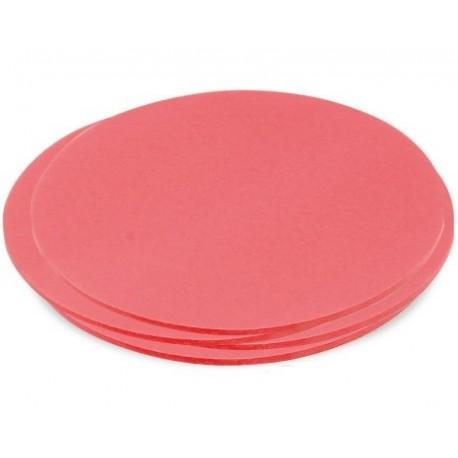Schede adesive rotonde grandi
