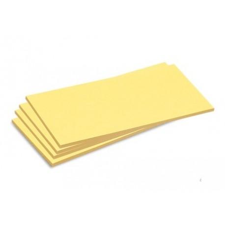Schede adesive rettangolari