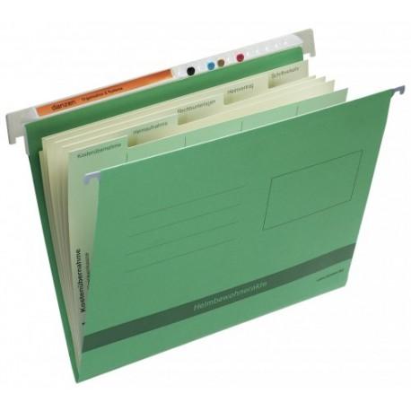 Cartella per dati  pazienti interni -  verde