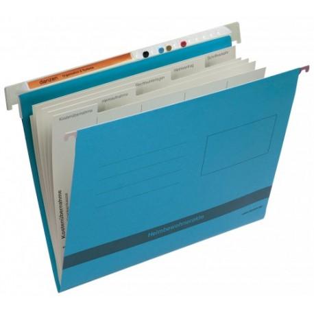 Cartella per dati  pazienti interni -  blu