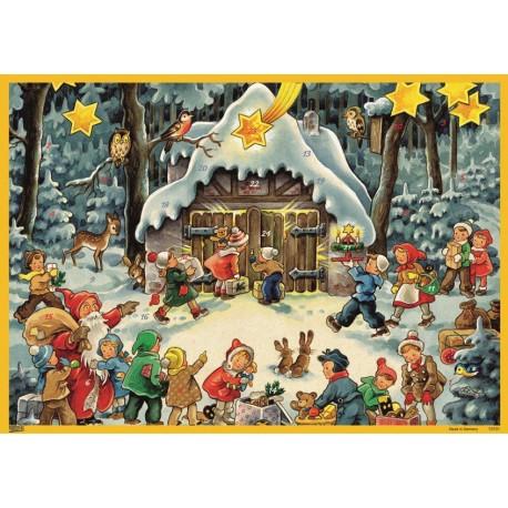 Natale nella foresta