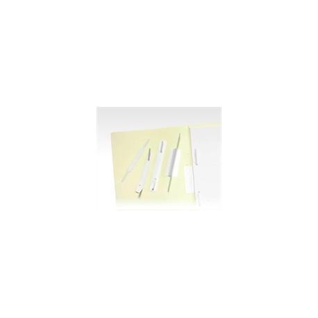 Linguetta fermafogli adesiva Set da 100