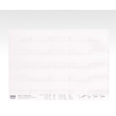 Segnalini con pellicola bianchi