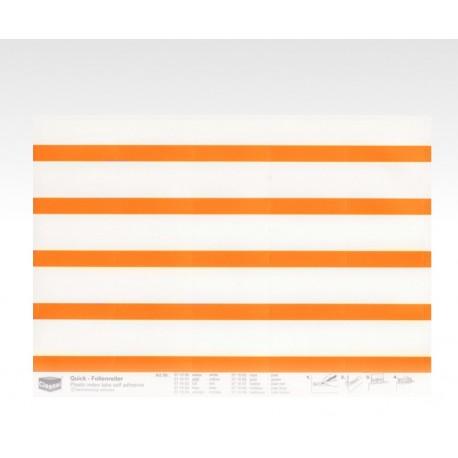 Segnalini con pellicola arancio