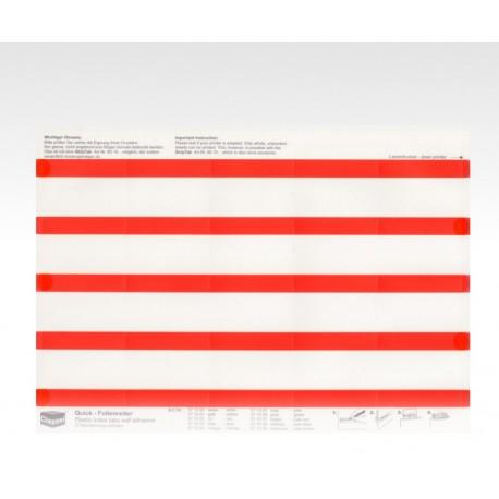 Segnalini con pellicola rosso