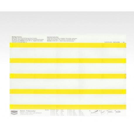 Segnalini con pellicola giallo