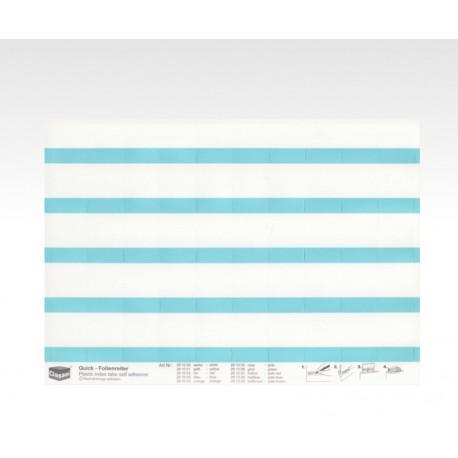 Folien-Tabs blau 28 x 10