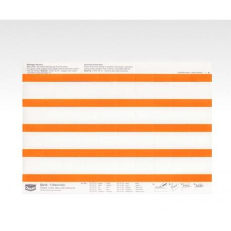 Folien-Tabs orange 28 x 10