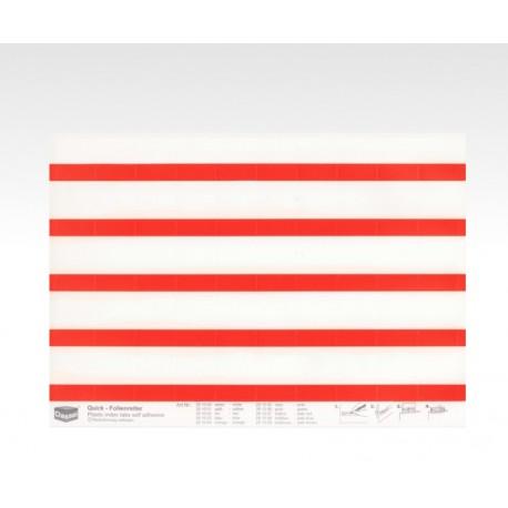 Folien-Tabs rot 28 x 10
