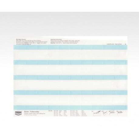 Folien-Tabs hellblau 28 x 10