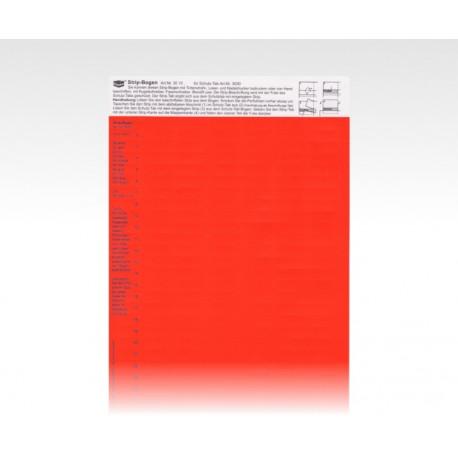 StripTabs rot 10 x 28,75 mm