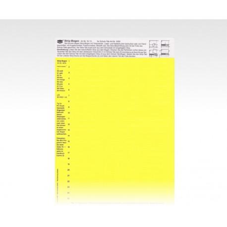 StripTabs gelb 10 x 28,75 mm