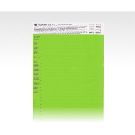 StripTabs grün 10 x 28,75 mm