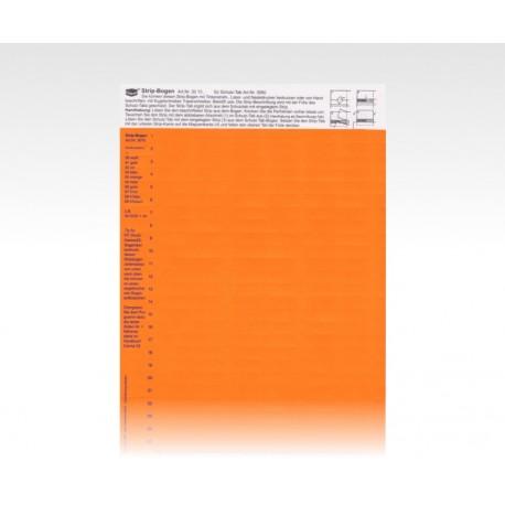 StripTabs orange 10 x 28,75 mm