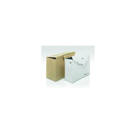 Box Archivio cartone bianco