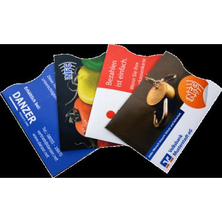 Kartenhülle mit NFC Schutz