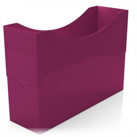 Kunststoffboxen magenta red