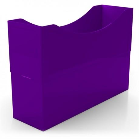 Kunststoffboxen purple violett