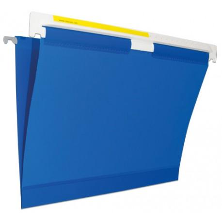 cartella sospesa in vinile con cuciture flessibili